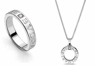 San Valentín: para los dos, anillo y colgante de Bulgari