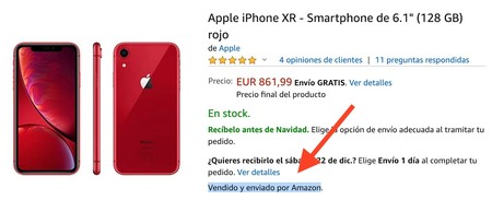 Iphone Amazon Vendedor