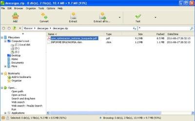 PeaZip, compresor de archivos multiplataforma como alternativa a WinRAR