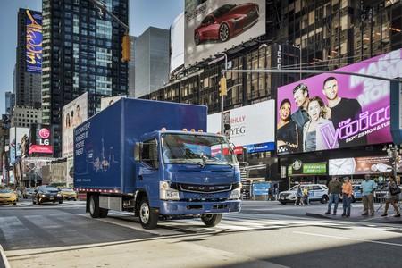 Daimler golpea primero con el camión 100% eléctrico: el Fuso eCanter ya está trabajando en Nueva York