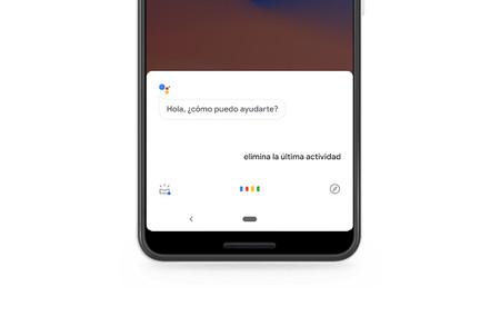 Asistente de Google: cómo eliminar la actividad con la voz