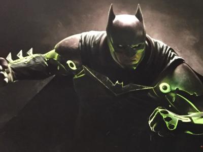 Injustice 2 es real, un cartel promocional filtrado muestra a Batman y Flash