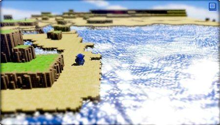 '3D Dot Game Heroes'. Amor por el píxel a tamaño industrial