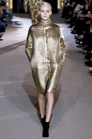 Stella McCartney Otoño-Invierno 2011/2012 dorado