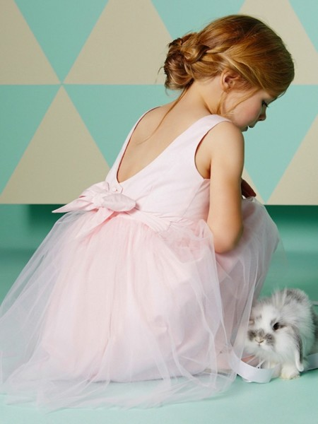 Pequeñas bailarinas: moda romántica y delicada