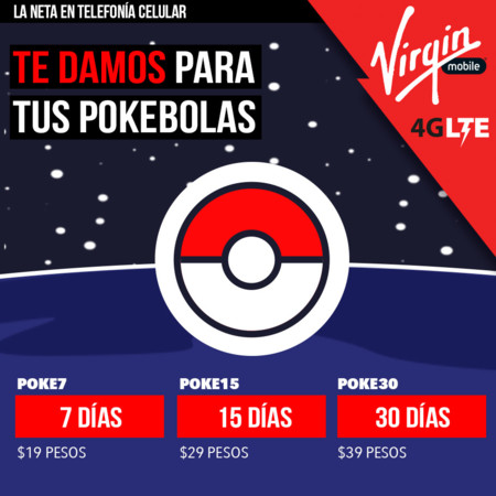 Virgin Mobile Paquete Pokemon Go