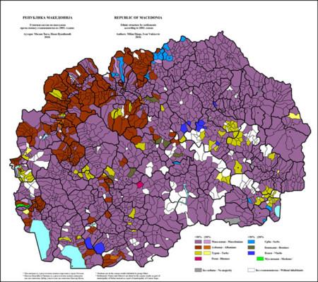 Mapa Etnico Albania