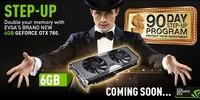 EVGA duplica memoria a 6GB en nuevos modelos de GeForce GTX 780