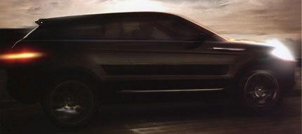 Land Rover LRX Concept, filtrada la primera imagen oficial