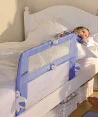 Barandilla de cama portátil