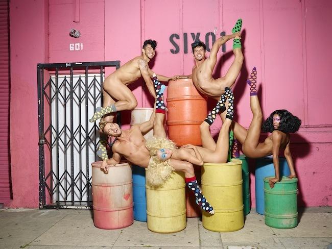 Foto de Happy Socks campaña con David LaChapelle (4/9)
