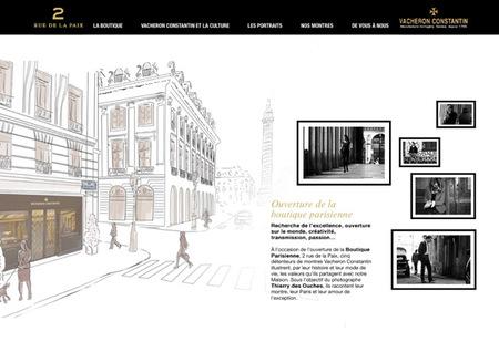 La nueva boutique parisina de Vacheron Constantin