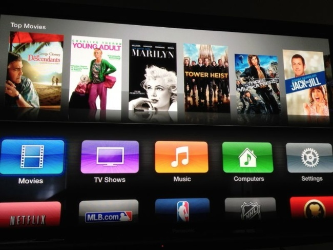 Apple TV Interfaz