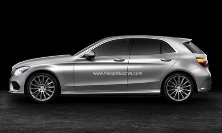 ¿Cómo sería el Mercedes-Benz Clase C compacto y berlina/coupé?