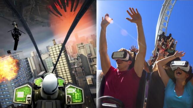 ¡Es oficial! Las montañas rusas con realidad virtual llegarán gracias a Six Flags y Samsung