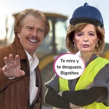 María Teresa Campos condujo los coches de Bigote Arrocet hasta el desguace utilizando esta artimaña con la fotocopia de su DNI
