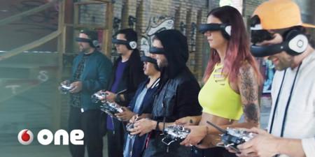Ser un podracer no está tan lejos: las carreras de drones se le parecen mucho