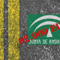 La Junta de Andalucía sentenciada con 92.000 por un accidente causado por el mal estado de una carretera