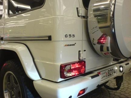 Mercedes G55 McLaren: el motor de un SLR en un Clase G