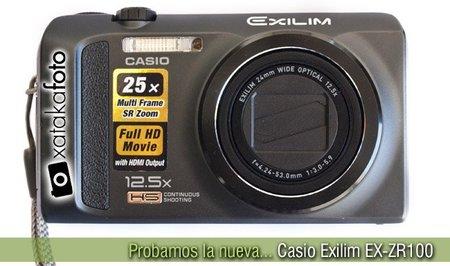 Probamos la nueva Casio Exilim EX-ZR100