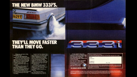 BMW 333i publicidad