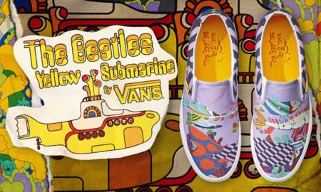 Si eres fan de The Beatles, tus pies han de andar al son de Vans