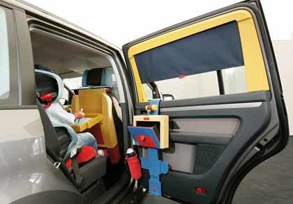 Kids Car: sistema de ocio infantil para el coche ideado por Volkswagen