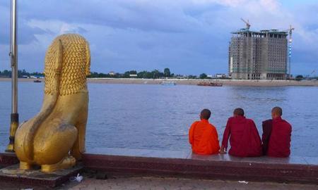 Recorrido a pie por Phnom Penh, Camboya