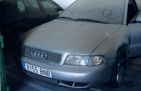 Audi A4 decomisado