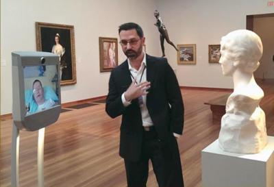 Beam quiere ser la ventana de la telepresencia para visitar museos