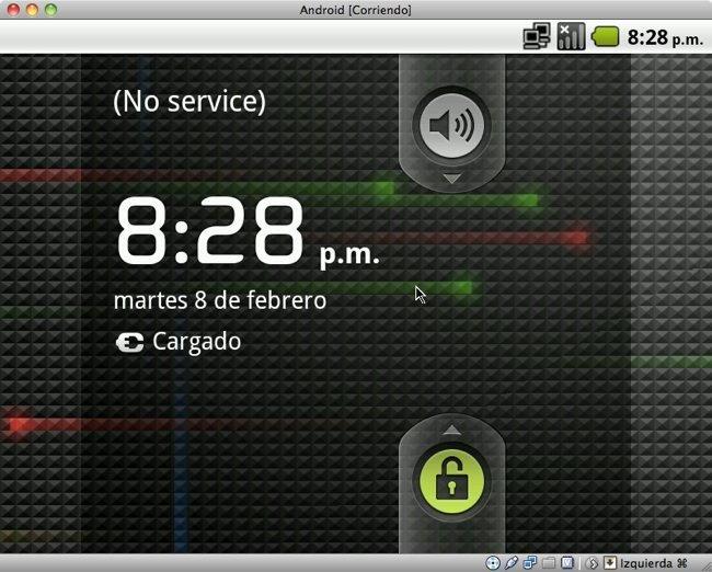 Pantalla de bloqueo de Android-x86