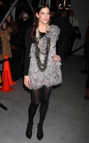 Liv Tyler boutique de Christian Dior