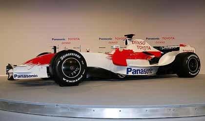 Presentado el nuevo Toyota TF108