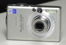 Canon Powershot SD600, vídeo de Cnet