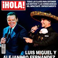 Luis Miguel, Alejandro Fernámdez y sus cabreos