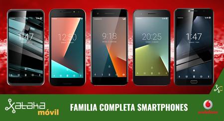 Vodafone Smart V8, Smart N8 y Smart E8: renovada gama de smartphones con 4G+ y lector de huellas