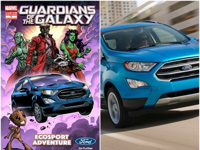 """Ford EcoSport será el vehículo oficial de """"Guardianes de la Galaxia Vol.2"""""""