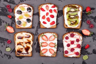 Meriendas y snacks saludables para comer entre horas