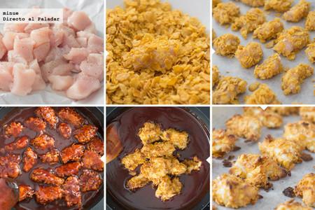 Pollo crujiente al estilo del general Tso - elaboración