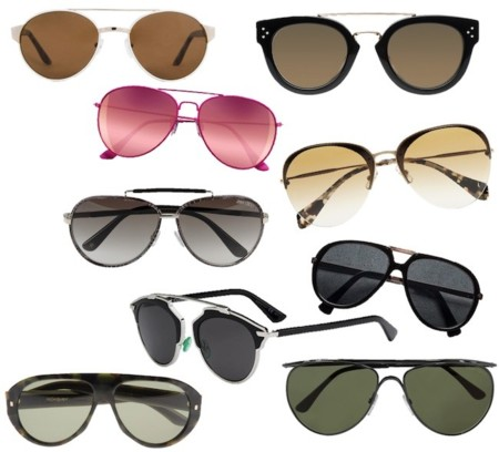 gafas de sol aviadoras 2014
