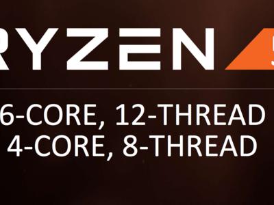 Ryzen 5: seis núcleos y 12 hilos por menos de 250 dólares