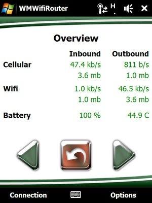 WMWifiRouter permite compartir la conexión del móvil