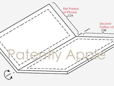 ¿Un iPhone plegable? Una patente lo contempla