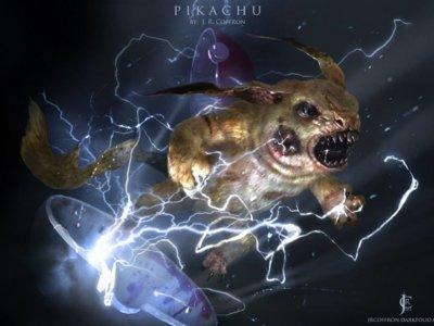 Con estas ilustraciones, Pokémon también puede formar parte de nuestras peores pesadillas