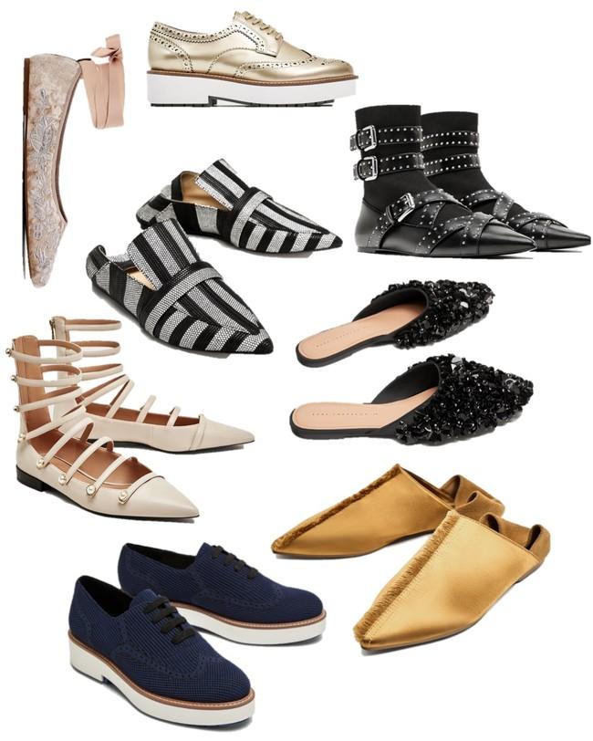 Zara Rebajas Zapato Plano