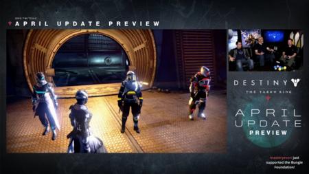 Destiny Actualizacion De Abril 17