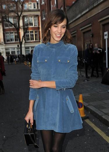 La Semana de la Moda de Londres a través de los looks de Alexa Chung