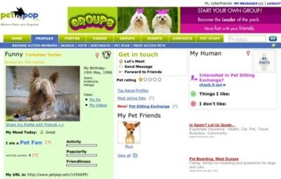 Petpop, otra red social para los amantes de los animales