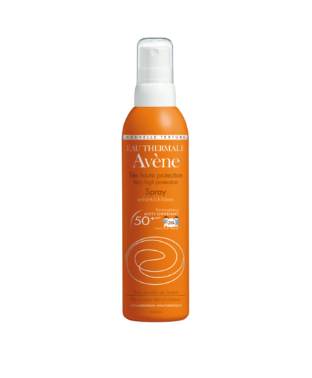 Probamos el Spray SPF 50+ de Avène, lo mejor para proteger la piel de nuestros niños del sol