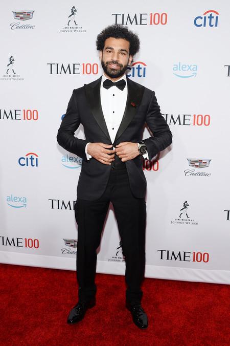 Mohamed Salah Time 100 Gala 2019 Red Carpet Alfombra Roja